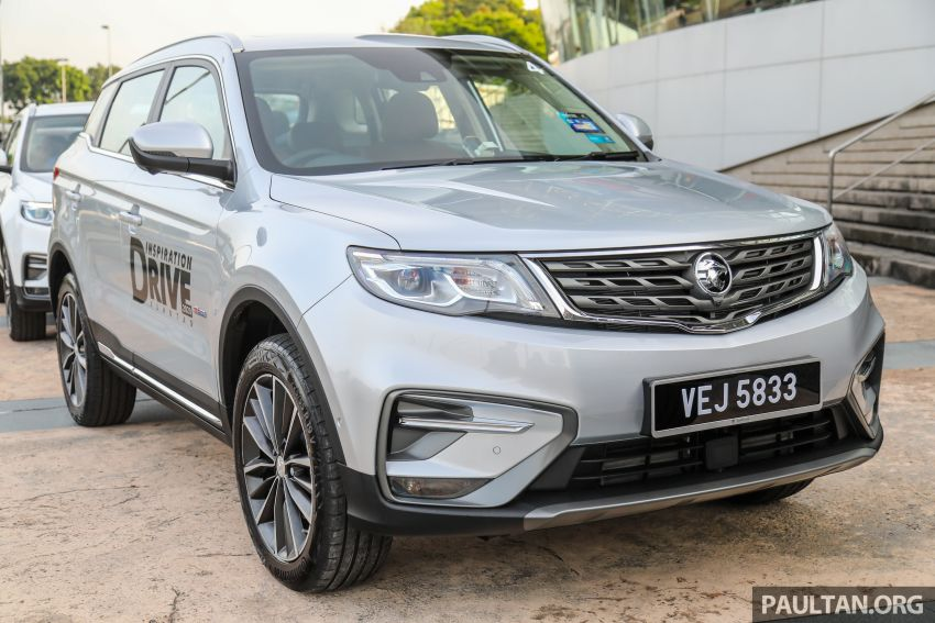 DRIVEN: 2020 Proton X70 CKD with 7DCT full review Image #1079712