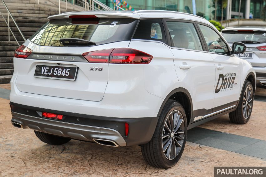 DRIVEN: 2020 Proton X70 CKD with 7DCT full review Image #1079718