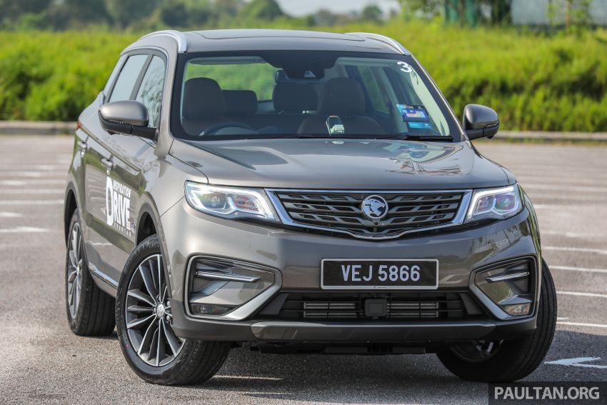 DRIVEN: 2020 Proton X70 CKD with 7DCT full review Image #1079529