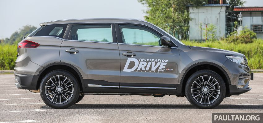 DRIVEN: 2020 Proton X70 CKD with 7DCT full review Image #1079538