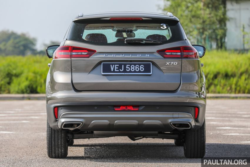 DRIVEN: 2020 Proton X70 CKD with 7DCT full review Image #1079542