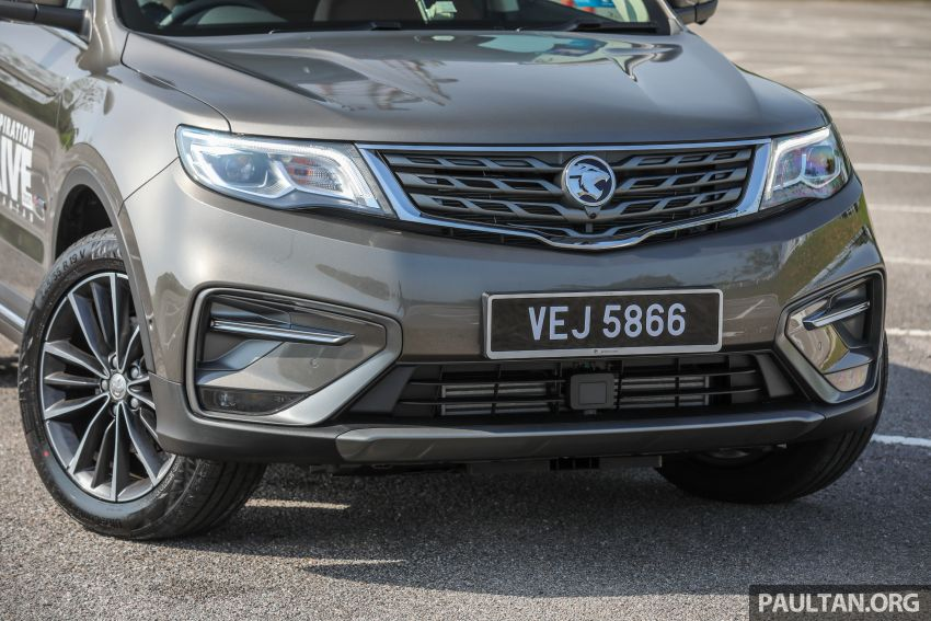 DRIVEN: 2020 Proton X70 CKD with 7DCT full review Image #1079544