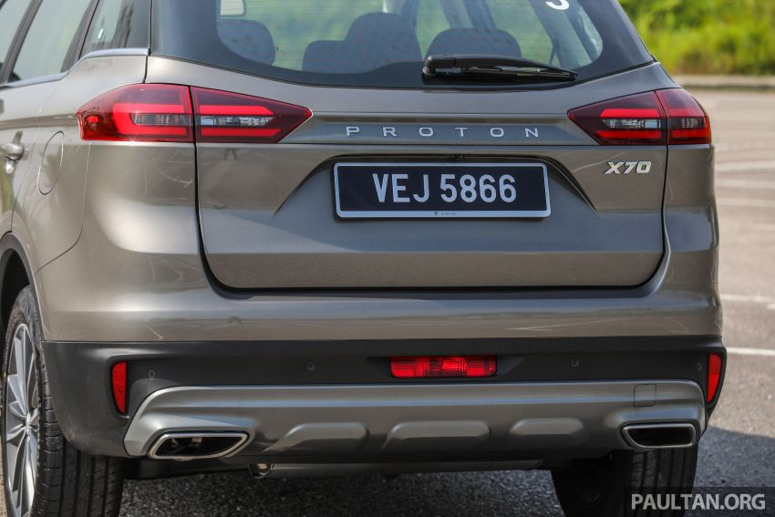 DRIVEN: 2020 Proton X70 CKD with 7DCT full review Image #1079564
