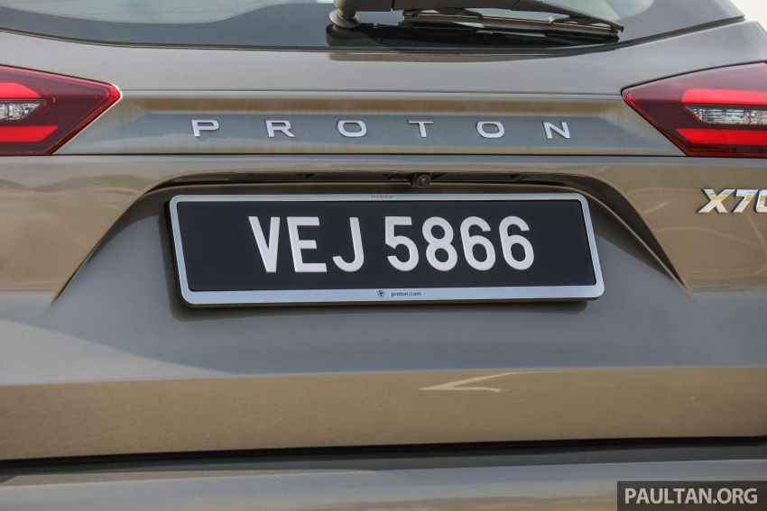 DRIVEN: 2020 Proton X70 CKD with 7DCT full review Image #1079568