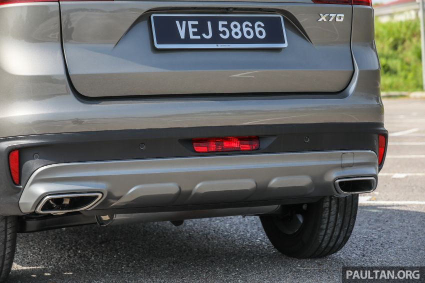 DRIVEN: 2020 Proton X70 CKD with 7DCT full review Image #1079569