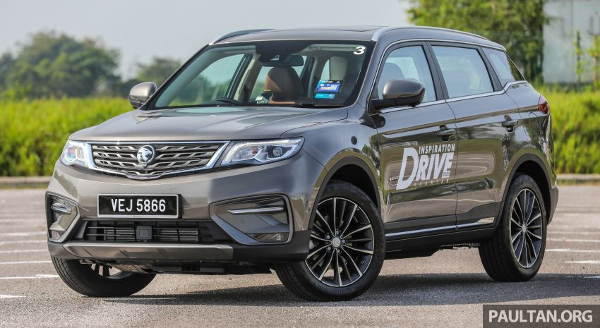DRIVEN: 2020 Proton X70 CKD with 7DCT full review Image #1079532