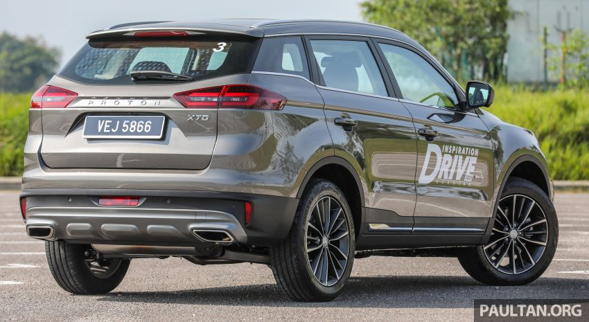 DRIVEN: 2020 Proton X70 CKD with 7DCT full review Image #1079534