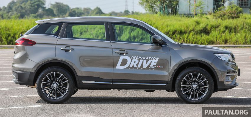 DRIVEN: 2020 Proton X70 CKD with 7DCT full review Image #1079537