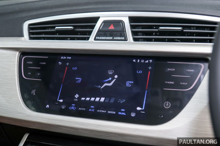 DRIVEN: 2020 Proton X70 CKD with 7DCT full review Image #1079597
