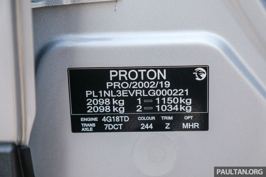 DRIVEN: 2020 Proton X70 CKD with 7DCT full review Image #1079636