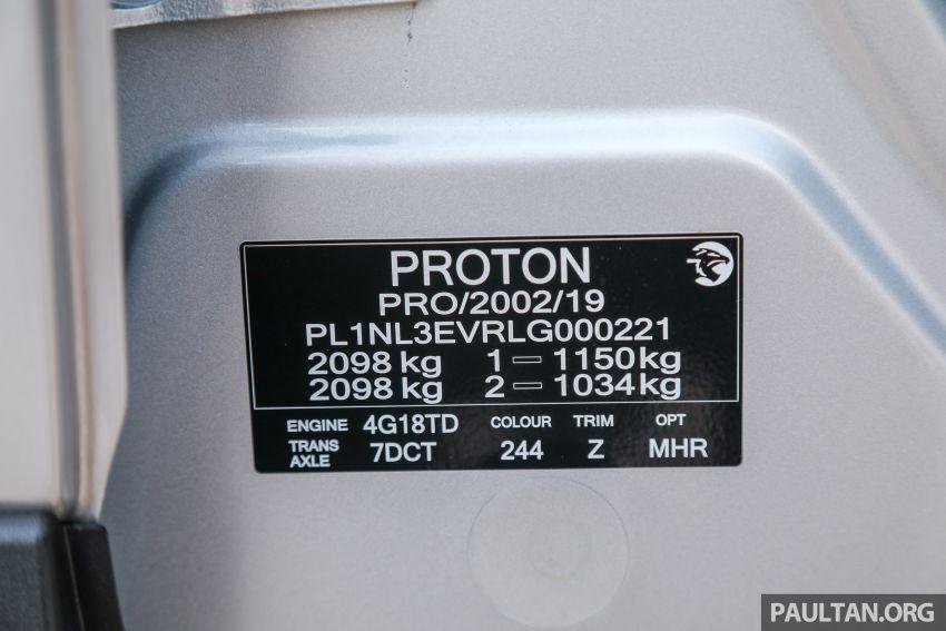 PANDU UJI: Proton X70 CKD 2020 – dengan kotak gear DCT 7-kelajuan baru, penawarannya kini yang terbaik? Image #1077842