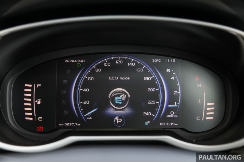 DRIVEN: 2020 Proton X70 CKD with 7DCT full review Image #1079580