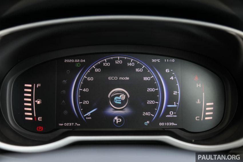 PANDU UJI: Proton X70 CKD 2020 – dengan kotak gear DCT 7-kelajuan baru, penawarannya kini yang terbaik? Image #1077809