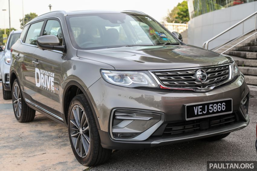 2020 Proton X70 CKD launched: Volvo 7DCT, +15 Nm, 13% better economy, more features, RM95k to RM123k Image #1078670