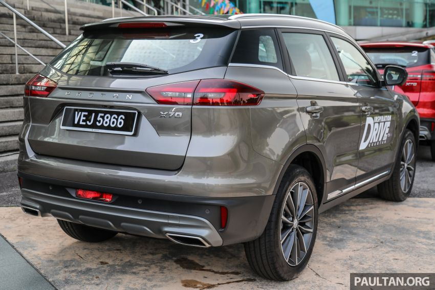 2020 Proton X70 CKD launched: Volvo 7DCT, +15 Nm, 13% better economy, more features, RM95k to RM123k Image #1078671