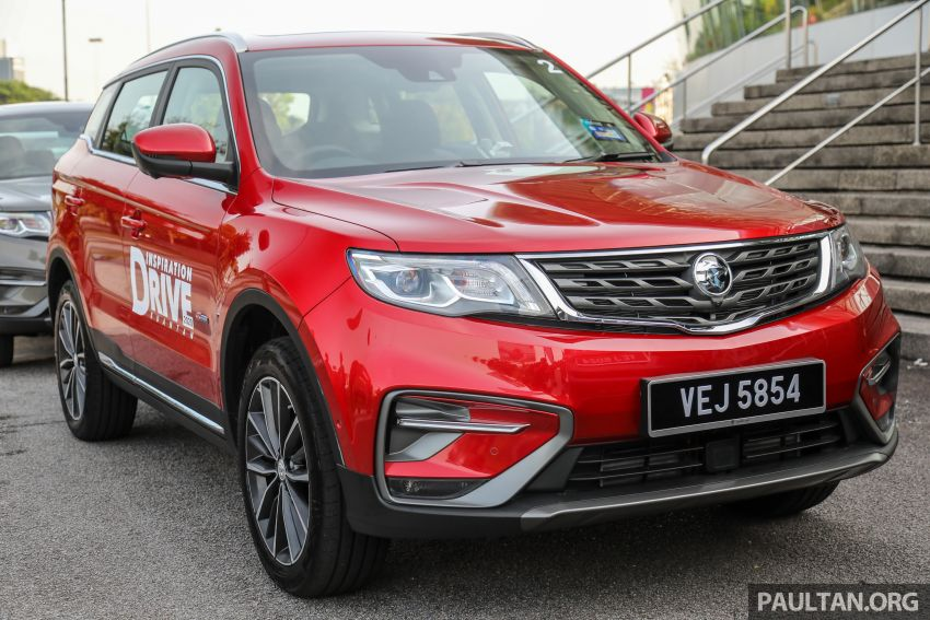 2020 Proton X70 CKD launched: Volvo 7DCT, +15 Nm, 13% better economy, more features, RM95k to RM123k Image #1078673