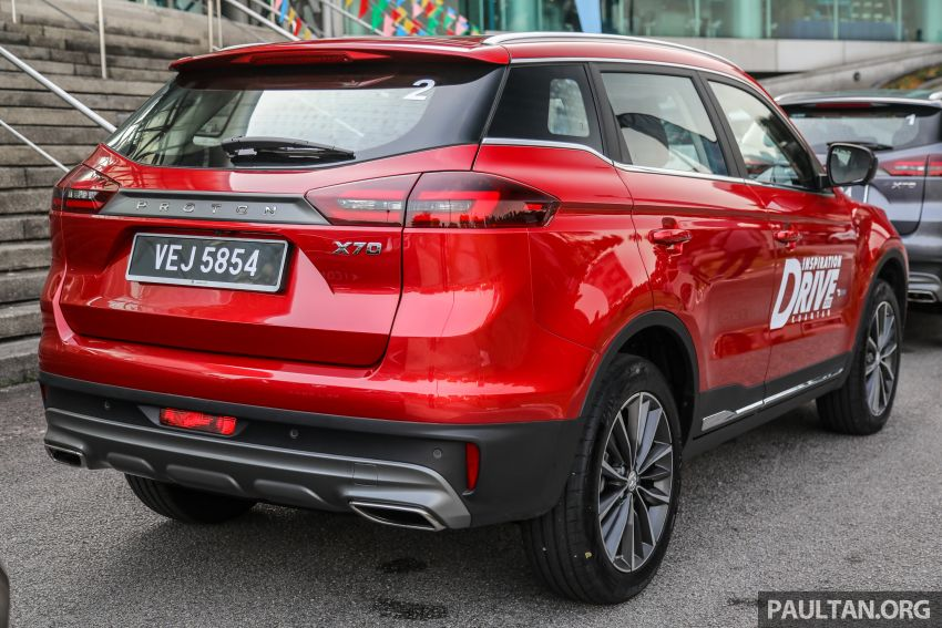 2020 Proton X70 CKD launched: Volvo 7DCT, +15 Nm, 13% better economy, more features, RM95k to RM123k Image #1078675