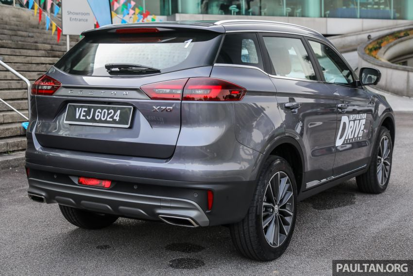 2020 Proton X70 CKD launched: Volvo 7DCT, +15 Nm, 13% better economy, more features, RM95k to RM123k Image #1078680