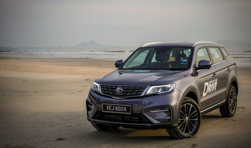 DRIVEN: 2020 Proton X70 CKD with 7DCT full review Image #1080240