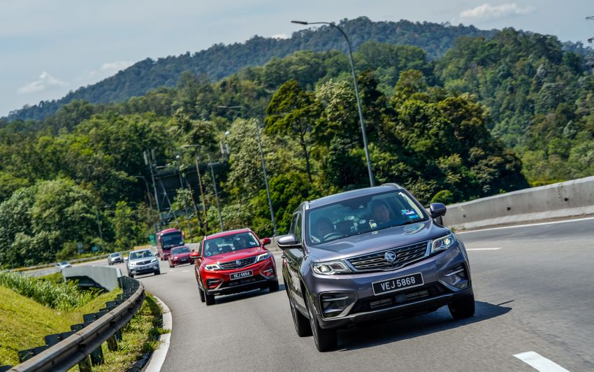 DRIVEN: 2020 Proton X70 CKD with 7DCT full review Image #1080246