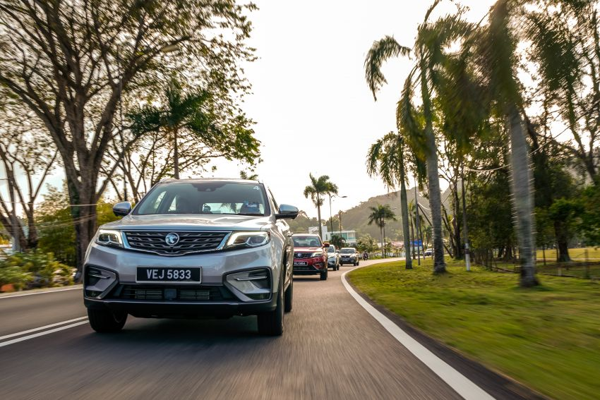 DRIVEN: 2020 Proton X70 CKD with 7DCT full review Image #1080247
