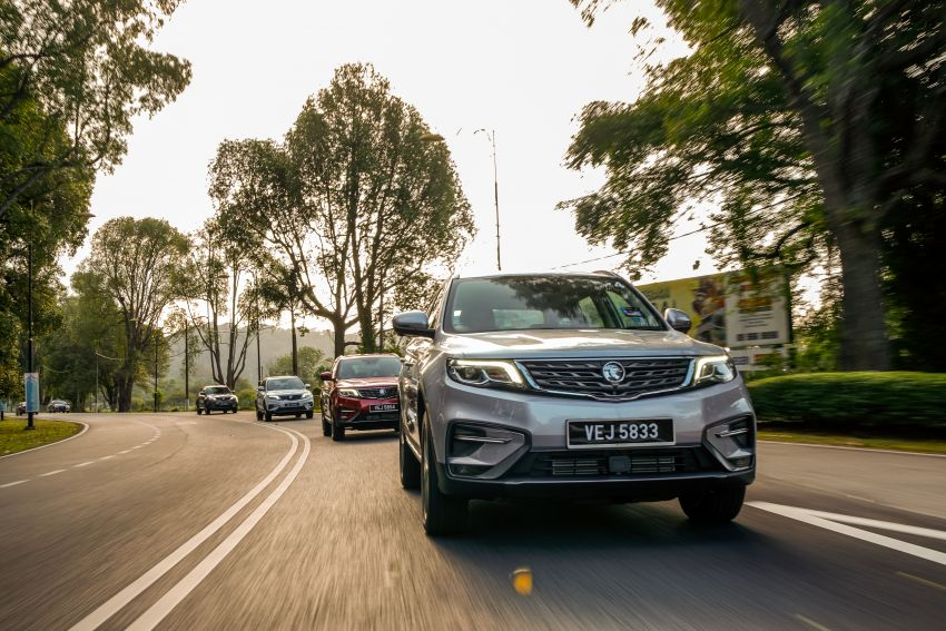 DRIVEN: 2020 Proton X70 CKD with 7DCT full review Image #1080248