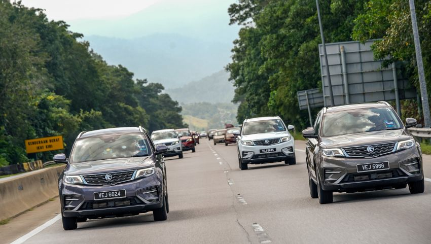 DRIVEN: 2020 Proton X70 CKD with 7DCT full review Image #1080232