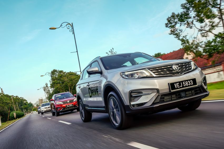 DRIVEN: 2020 Proton X70 CKD with 7DCT full review Image #1080249