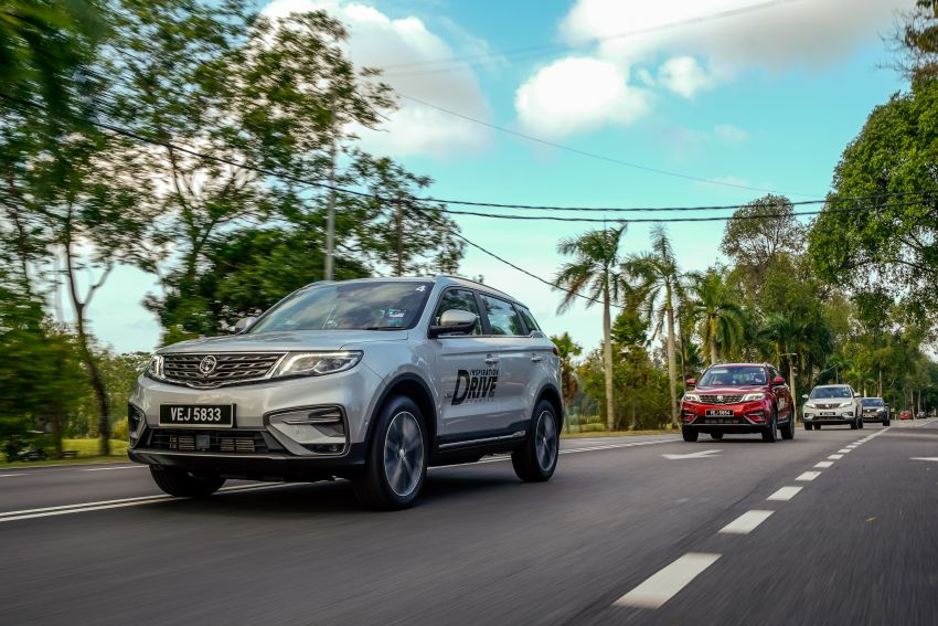DRIVEN: 2020 Proton X70 CKD with 7DCT full review Image #1080250