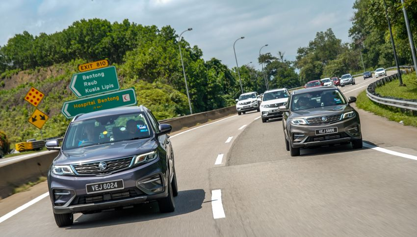 DRIVEN: 2020 Proton X70 CKD with 7DCT full review Image #1080233