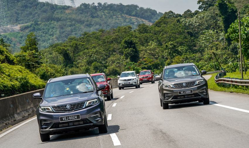 DRIVEN: 2020 Proton X70 CKD with 7DCT full review Image #1080234