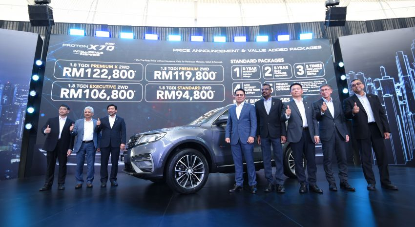 2020 Proton X70 CKD launched: Volvo 7DCT, +15 Nm, 13% better economy, more features, RM95k to RM123k Image #1081293