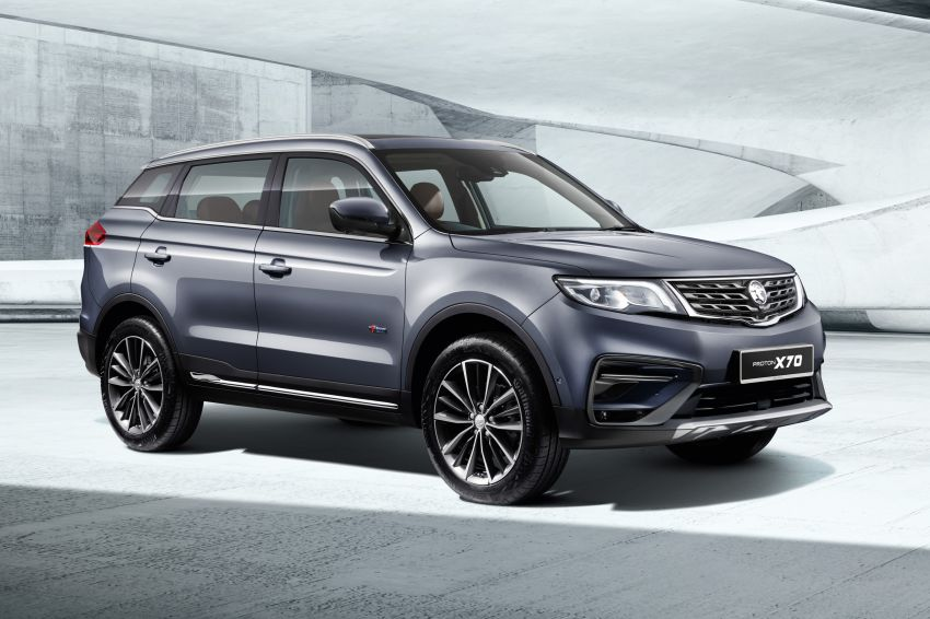2020 Proton X70 CKD launched: Volvo 7DCT, +15 Nm, 13% better economy, more features, RM95k to RM123k Image #1081307