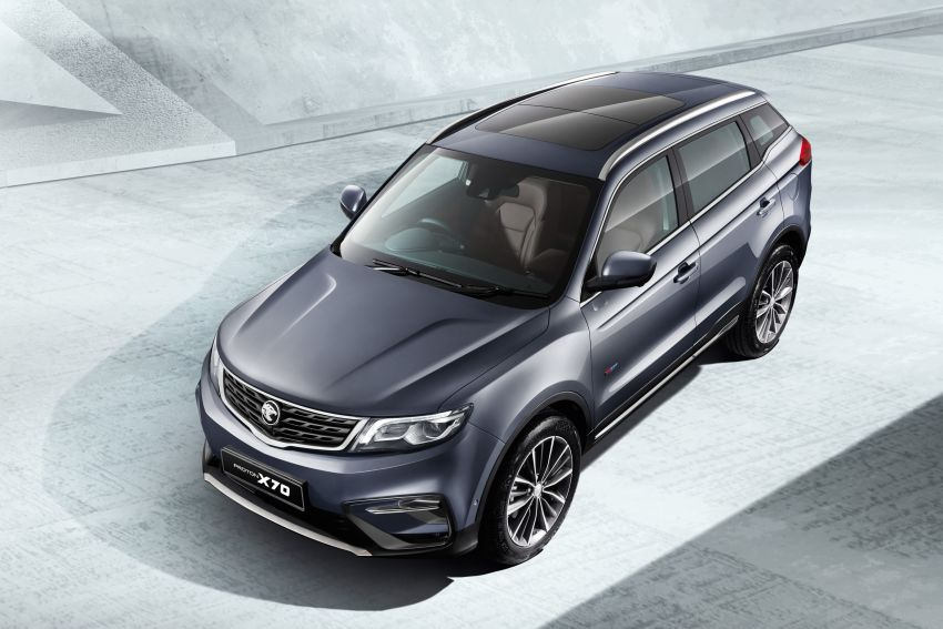 2020 Proton X70 CKD launched: Volvo 7DCT, +15 Nm, 13% better economy, more features, RM95k to RM123k Image #1081306