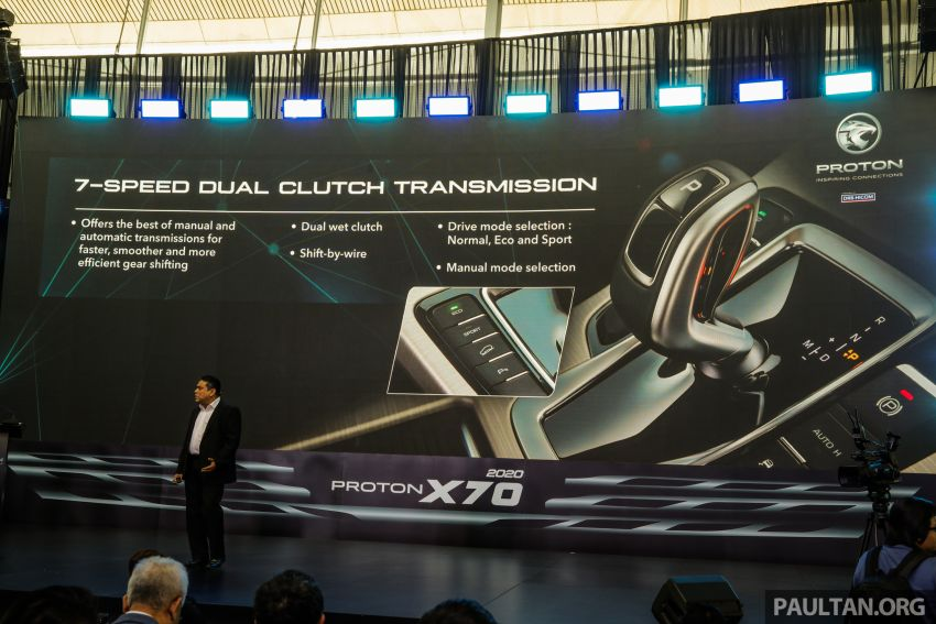 2020 Proton X70 CKD launched: Volvo 7DCT, +15 Nm, 13% better economy, more features, RM95k to RM123k Image #1081331