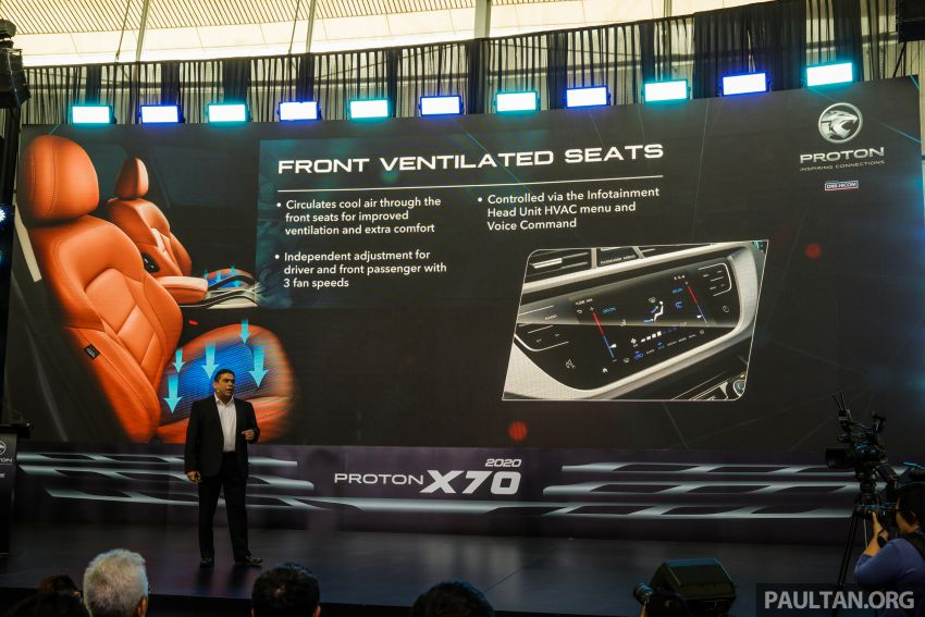 2020 Proton X70 CKD launched: Volvo 7DCT, +15 Nm, 13% better economy, more features, RM95k to RM123k Image #1080866
