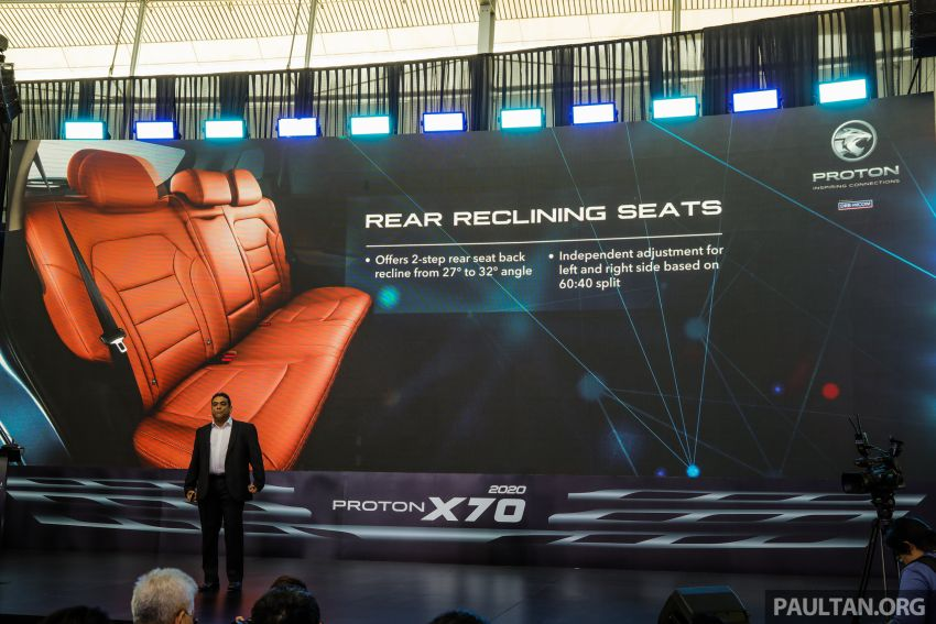 2020 Proton X70 CKD launched: Volvo 7DCT, +15 Nm, 13% better economy, more features, RM95k to RM123k Image #1080870