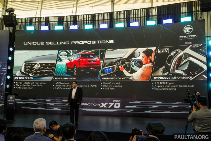 2020 Proton X70 CKD launched: Volvo 7DCT, +15 Nm, 13% better economy, more features, RM95k to RM123k Image #1080924
