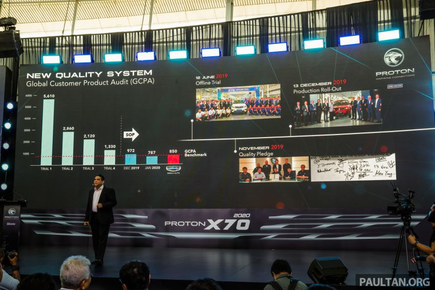 2020 Proton X70 CKD launched: Volvo 7DCT, +15 Nm, 13% better economy, more features, RM95k to RM123k Image #1080926
