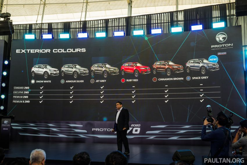 2020 Proton X70 CKD launched: Volvo 7DCT, +15 Nm, 13% better economy, more features, RM95k to RM123k Image #1080927
