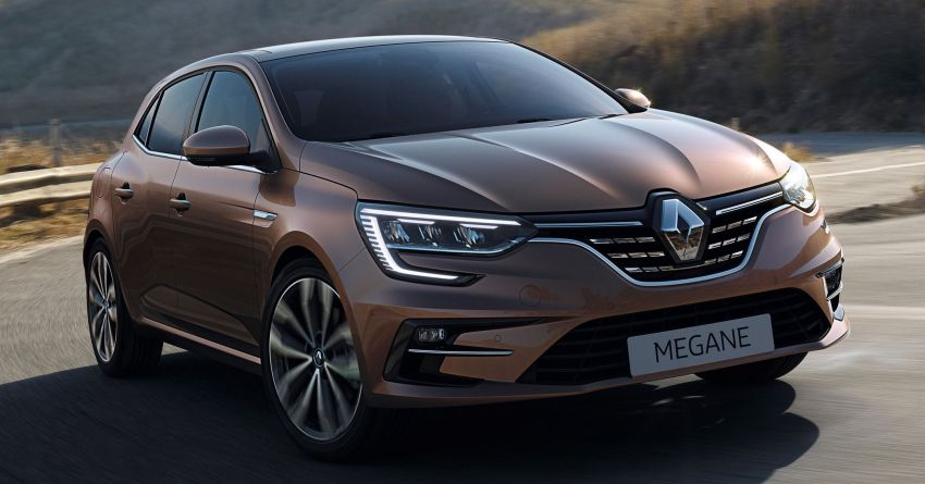 Renault Megane IV updated – new E-Tech PHEV variant Image #1076546