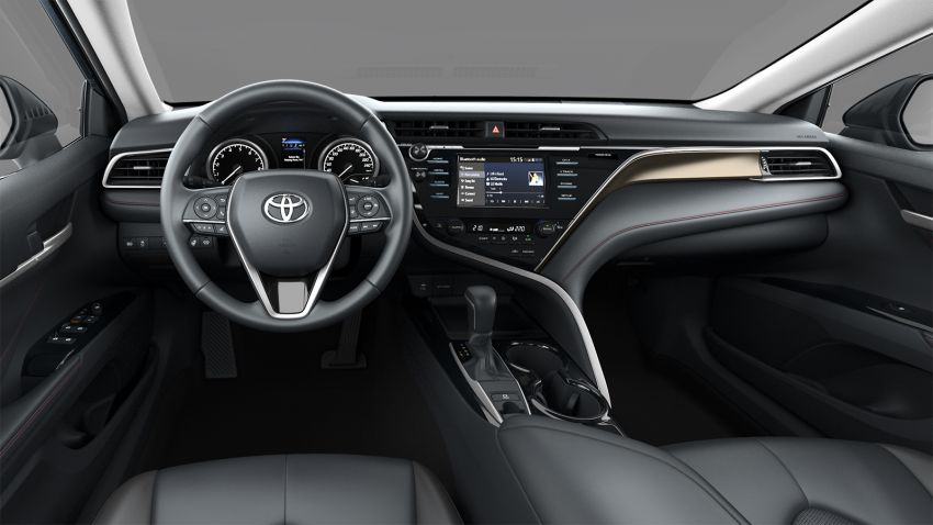 Toyota Camry S-Edition for Russia – revised exterior and interior trim, gains T-Mark anti-theft identifier Image #1077628