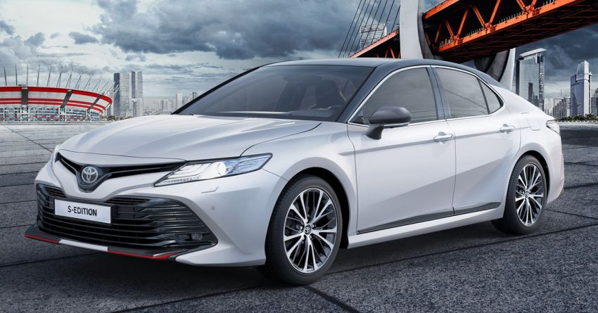 Toyota Camry S-Edition for Russia – revised exterior and interior trim, gains T-Mark anti-theft identifier Image #1077618