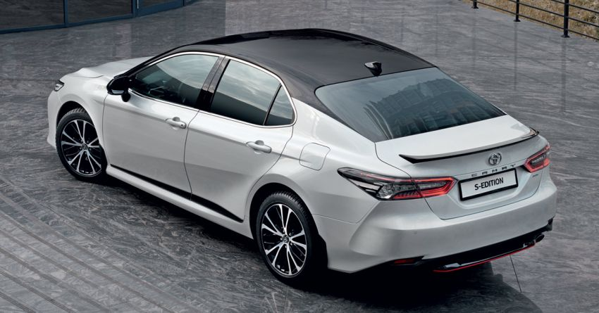 Toyota Camry S-Edition for Russia – revised exterior and interior trim, gains T-Mark anti-theft identifier Image #1077617