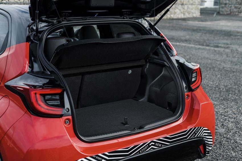 2020 Toyota Yaris Hybrid – 1.5L three-cylinder Dynamic Force engine, improved fuel efficiency and emissions Image #1079745