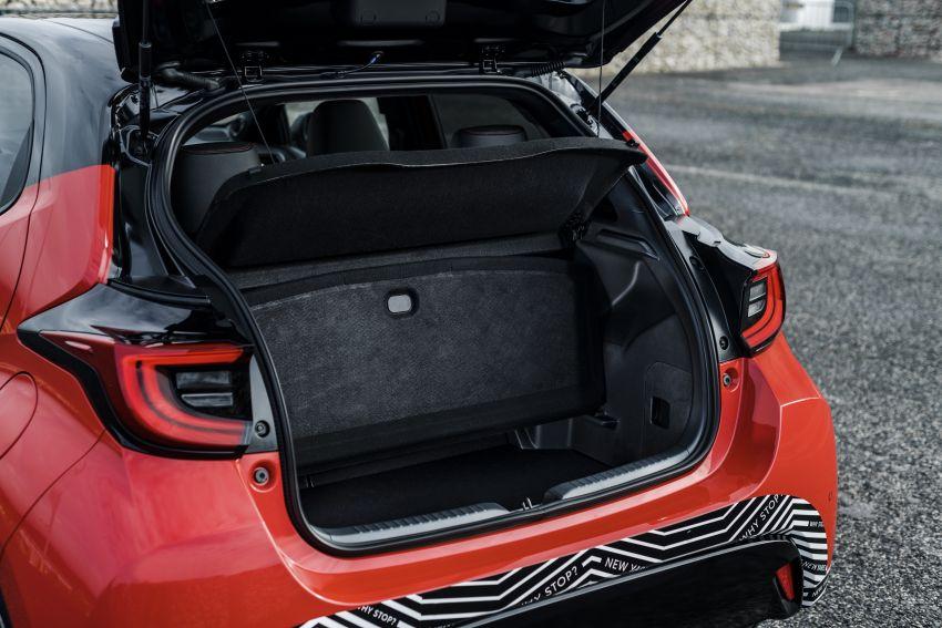 2020 Toyota Yaris Hybrid – 1.5L three-cylinder Dynamic Force engine, improved fuel efficiency and emissions Image #1079747