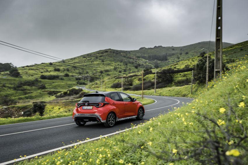2020 Toyota Yaris Hybrid – 1.5L three-cylinder Dynamic Force engine, improved fuel efficiency and emissions Image #1079601