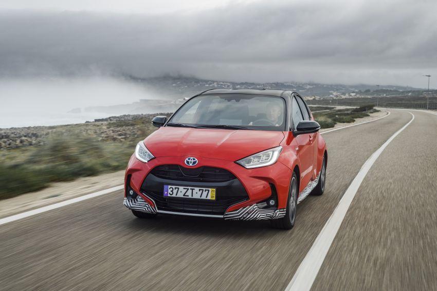 2020 Toyota Yaris Hybrid – 1.5L three-cylinder Dynamic Force engine, improved fuel efficiency and emissions Image #1079611