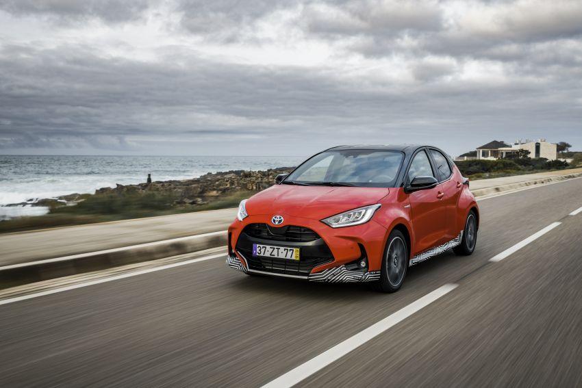 2020 Toyota Yaris Hybrid – 1.5L three-cylinder Dynamic Force engine, improved fuel efficiency and emissions Image #1079621
