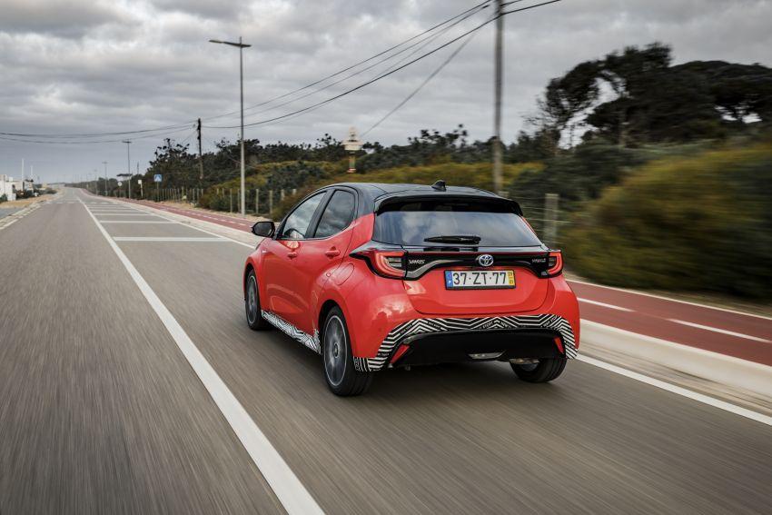 2020 Toyota Yaris Hybrid – 1.5L three-cylinder Dynamic Force engine, improved fuel efficiency and emissions Image #1079623